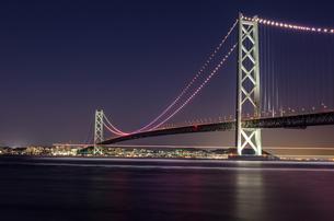 明石海峡大橋の写真素材 [FYI04094713]
