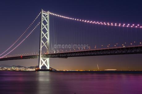 明石海峡大橋の写真素材 [FYI04094714]