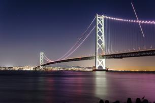明石海峡大橋の写真素材 [FYI04094715]
