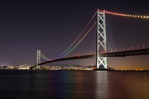明石海峡大橋の写真素材 [FYI04094716]