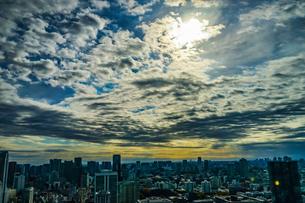 東京タワー展望台から見える東京の街並みの写真素材 [FYI04094864]