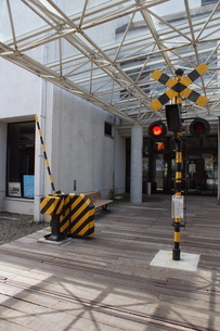 旧のと鉄道 輪島駅跡の写真素材 [FYI04094889]