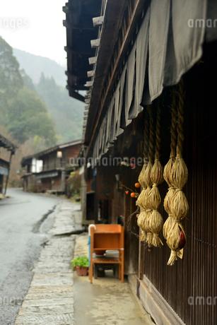 中山道妻籠宿の写真素材 [FYI04095024]