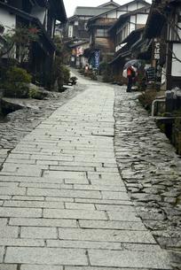中山道馬籠宿の写真素材 [FYI04095027]