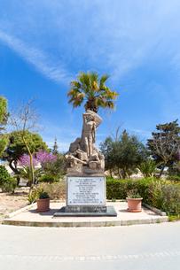 マルタ包囲戦の慰霊碑の写真素材 [FYI04095102]