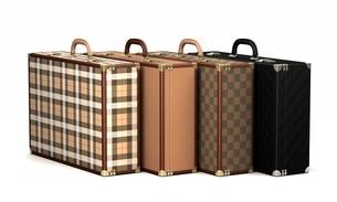 4つの鞄のイラスト素材 [FYI04095204]