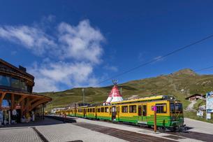 スイス、クライネシャイデック駅の写真素材 [FYI04095300]