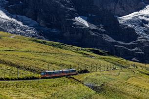 スイス、ユングフラウ鉄道の写真素材 [FYI04095307]