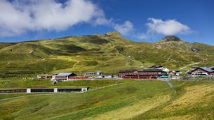 スイス、クライネシャイデック駅の写真素材 [FYI04095317]