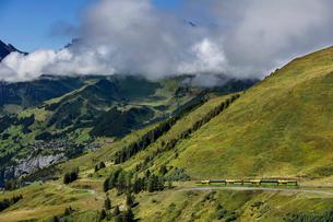 スイス、クライネシャイデックの写真素材 [FYI04095318]