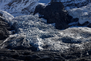 スイス、ユングフラウの氷河の写真素材 [FYI04095337]