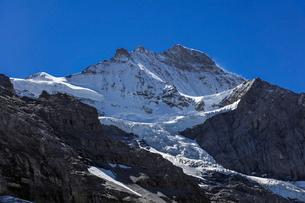 スイスアルプス、ユングフラウの写真素材 [FYI04095354]