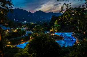 ラグジュアリーホテルのイメージ(スリランカ・キャンディー)の写真素材 [FYI04095982]