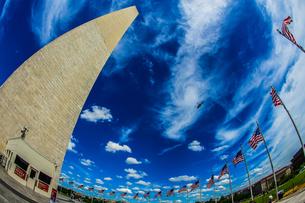 ワシントン記念塔(ワシントンDC)のイメージの写真素材 [FYI04095988]
