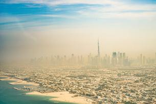 ドバイ(アラブ首長国連邦)の都市風景の写真素材 [FYI04096068]