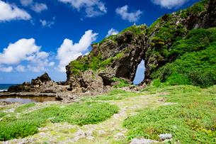 自然に形成された奇岩のミーフガーの写真素材 [FYI04096339]