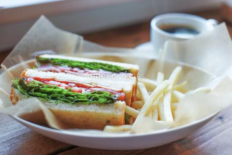 サンドイッチの写真素材 [FYI04096378]