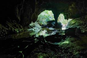 西表島の洞窟の写真素材 [FYI04096384]
