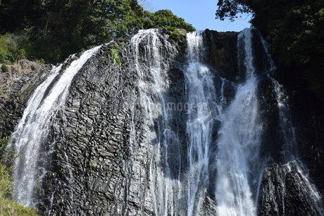 竜門の滝の写真素材 [FYI04096582]