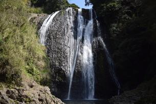 竜門の滝の写真素材 [FYI04096584]