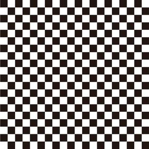 市松模様 黒 Sのイラスト素材 [FYI04096634]