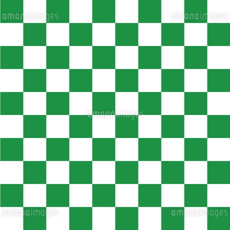 市松模様 緑 Lのイラスト素材 [FYI04096635]