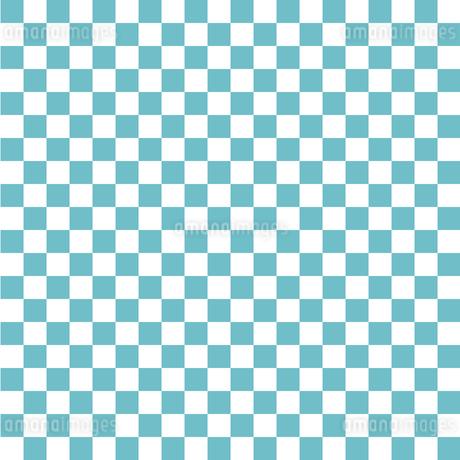 市松模様 水色 Sのイラスト素材 [FYI04096638]