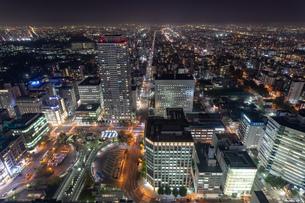 札幌の夜景の写真素材 [FYI04096740]