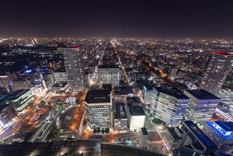 札幌の夜景の写真素材 [FYI04096742]
