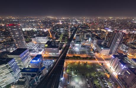 札幌の夜景の写真素材 [FYI04096743]