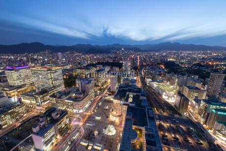 札幌の夜景の写真素材 [FYI04096747]