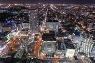 札幌の夜景の写真素材 [FYI04096749]