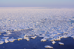 流氷の写真素材 [FYI04097051]
