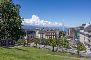 スイス、ジュネーブ旧市街の写真素材 [FYI04097289]