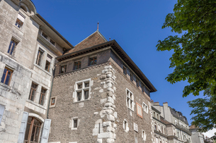 スイス、ジュネーブ旧市街の写真素材 [FYI04097316]