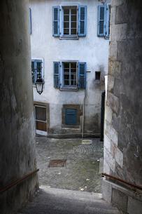 スイス、ジュネーブ旧市街の写真素材 [FYI04097489]