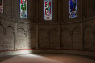 スイス、ジュネーブ旧市街、サン・ピエール大聖堂の写真素材 [FYI04097531]