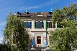 スイス、ジュネーブ旧市街の写真素材 [FYI04097547]