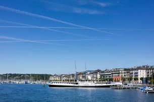 スイス、ジュネーブの風景の写真素材 [FYI04097549]
