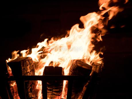 かがり火の写真素材 [FYI04097624]