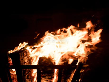 かがり火の写真素材 [FYI04097625]