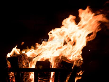 かがり火の写真素材 [FYI04097626]