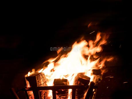 かがり火の写真素材 [FYI04097627]
