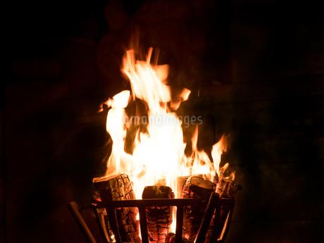 かがり火の写真素材 [FYI04097629]