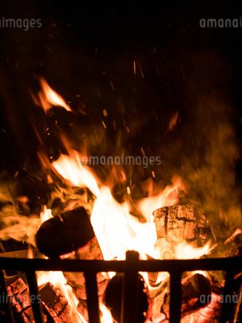 かがり火の写真素材 [FYI04097631]