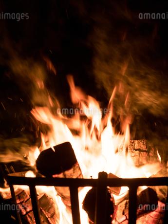 かがり火の写真素材 [FYI04097633]