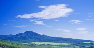 北海道 自然 風景 パノラマ 開陽台 (朝景)の写真素材 [FYI04097718]