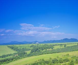 北海道 自然 風景 開陽台 (朝景)の写真素材 [FYI04097719]
