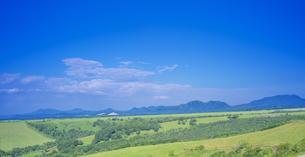 北海道 自然 風景 パノラマ 開陽台 (朝景)の写真素材 [FYI04097722]