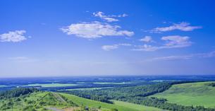 北海道 自然 風景 パノラマ 開陽台 (朝景)の写真素材 [FYI04097725]